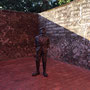 Im Hof der ehemaligen Befestigungsanlage Fort San Domingo