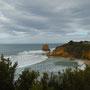 Blick rüber zum Split Point Lighthouse