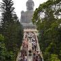 Treppe hinauf zum Buddha