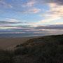...und hinter der Düne ist dann das Meer!