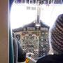 Rückflug nach Kathmandu: Blick ins Cockpit