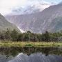 Gletscher im Hintergrund