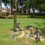 Kuching nennt sich auch die Stadt der Katzen