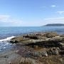 Aber heute zeigt sich das Meer von seiner ruhigen Seite...