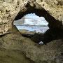 Loch im Felsen!