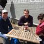 Frank, Jens und Dorothée...