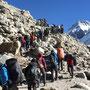 Auf dem Everest Highway (Route von Namche zum Basecamp)