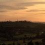 Abenddämmerung mit Melbourner Skyline...