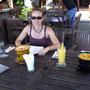 Das Essen war so gut, dass wir am nächsten Tag gleich wieder hin sind!