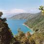 Und hier bin ich schon ganz im Norden der Südinsel - in den Marlborough Sounds