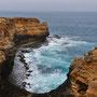 Wunderbare Küste Victorias