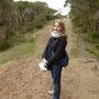 Laure auf dem Range Area Walk