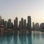Dieser kleine Teich gehört auch zum Komplex des Burj Khalifa