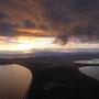 Rückflug von Tasmanien...