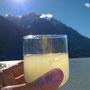 Pisco Sour gekühlt mit Gletschereis