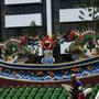 Drachen auf dem Tempeldach