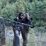 Mit Martin auf einer der unzähligen Brücken am oder über den Dude KostDer Dudu KostDie Doppel