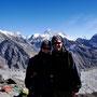 Wir vor Everest, Lhoste und Nuptse