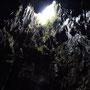 Höhle mit Oberlicht