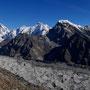 Der Ngozumpa Gletscher