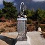 Ein Stein vom höchsten (Everest) und einer vom tiefsten (Totes Meer) Punkt der Erde