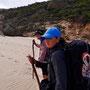 Nein, Dori läuft nicht gerne am Strand...