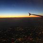 ...und Anflug auf Melbourne