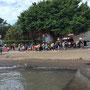 Der einzige Strand von Tamsui...