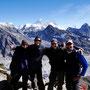 Heike, Martin, Holger und Justin