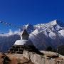 Stupa mit Aussicht