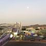 Abenddämmerung über Lynnwood, einem Stadtteil von Pretoria. Bald geht es zurück nach Melbourne...