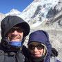 Heike und ich auf dem Khumbu