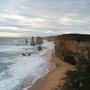 Die Trümmer im Meer zeugen noch vom letzten Einsturz