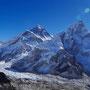 Der vielleicht berühmteste Blick auf den Everest
