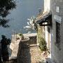 Der Lago di Como kommt in Sicht.