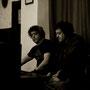 Adolfo Castilla ( ingeniero de sonido ) y Francisco Orozco