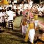 Dancer, religious ceremony, Padangbai