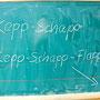 Kepp-Schapp oder auch Kebbatz. Kindisch für: Ketchup