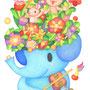 花の帽子/original