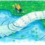 おはなし あいちのでんせつ2挿絵「大蛇のおんがえし」02(2014年)
