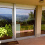 Fensterfront Holz/Metall