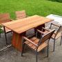 Tisch / Stühle in Kirschbaum