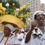 Religious procession in Rio
