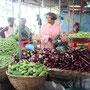 Markt in Quatre Borne