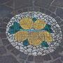 das Mosaik am Eingang