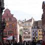 Marktplatz in Mulhouse (F)