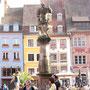 Renaissancefassaden & Brunnen am Platz der Wiedervereinigung