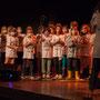 Création musicale Siladigueron. Elèves de CM1/CM2 de l'école primaire de l'Estey (Le Tourne), et l'enseignante Céline Dumas. Lundi 7 juin 2021, salle culturelle de Cénac