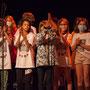 Création musicale Siladigueron. Elèves de CM1/CM2 de l'école primaire de l'Estey (Le Tourne), enseignante Céline Dumas. Lundi 7 juin 2021, Cénac