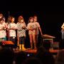 Création musicale Siladigueron. Elèves de CM1/CM2 de l'école primaire de l'Estey (Le Tourne), Jack Tocah, Carole Simon-Tocah et l'enseignante Céline Dumas. Lundi 7 juin 2021, Cénac
